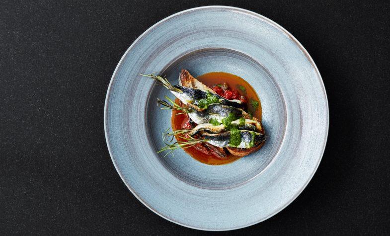 Sardines on toast at Gridiron