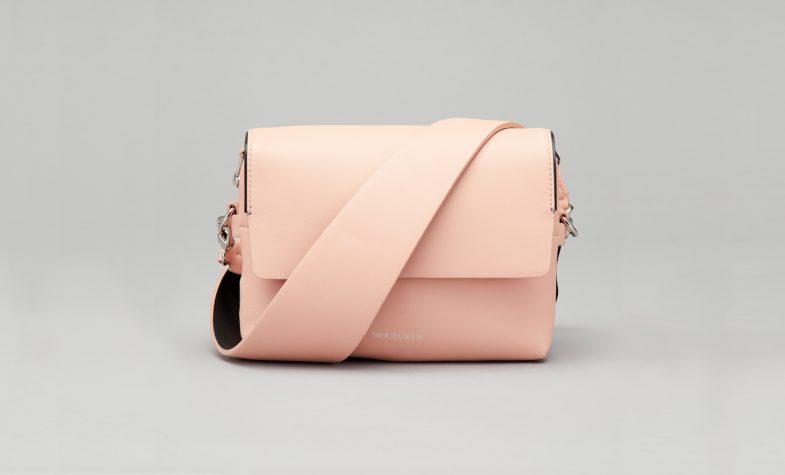 Troubadour women's collection Ki cross-body bag in pale pink, £375.00