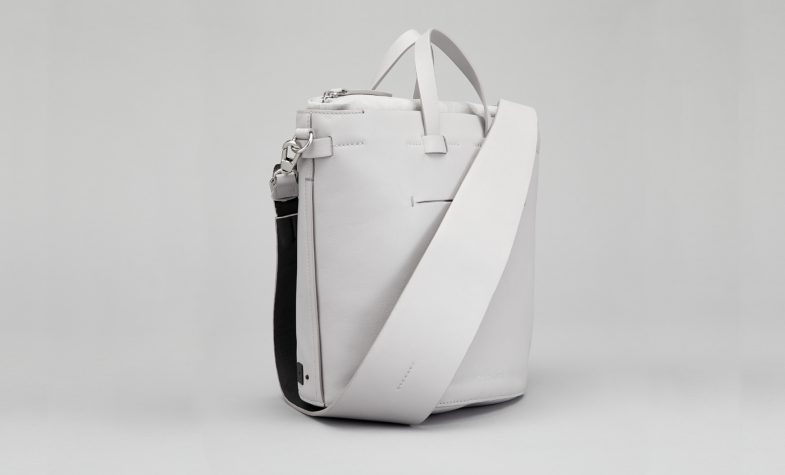 Troubadour women's collection Contour Oval Bag in grey, £455.00