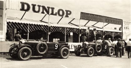 Bentley is celebrating its centenary this year