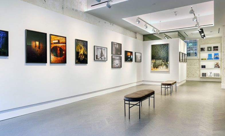 The new Leica Store on Duke Street features a large gallery area for changing exhibitions