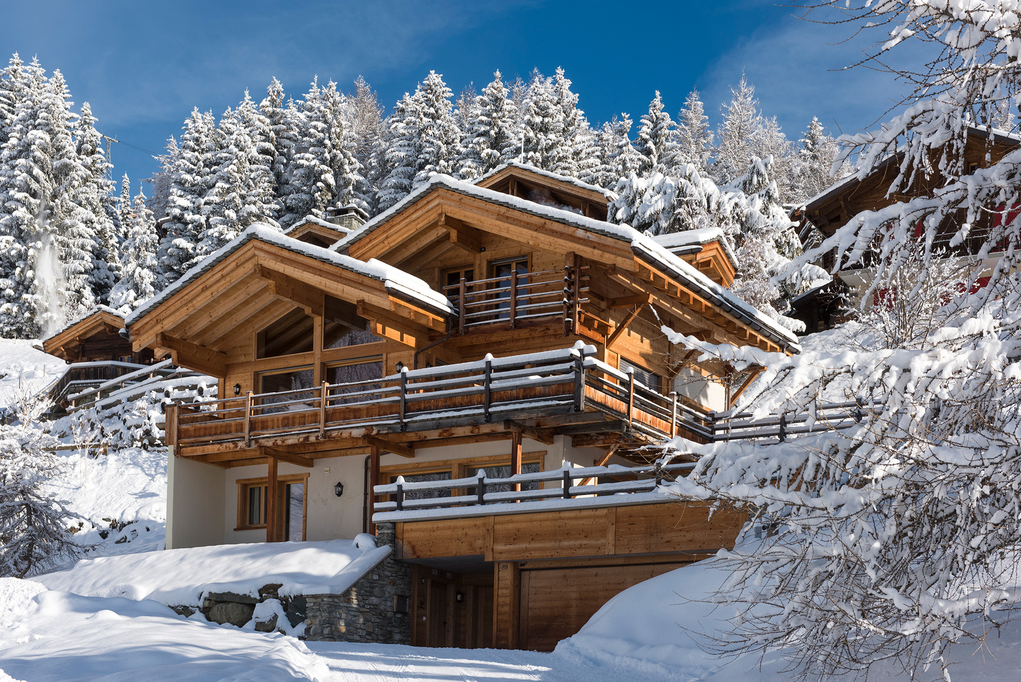 Ski Verbier Exclusive's Rock Chalet