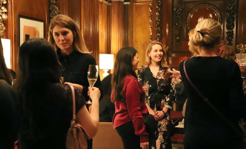 Guests at the Women of Brummell event at Brummell magazine hosted its first event for its network of women in the City this week at Ten Trinity Square Private Club