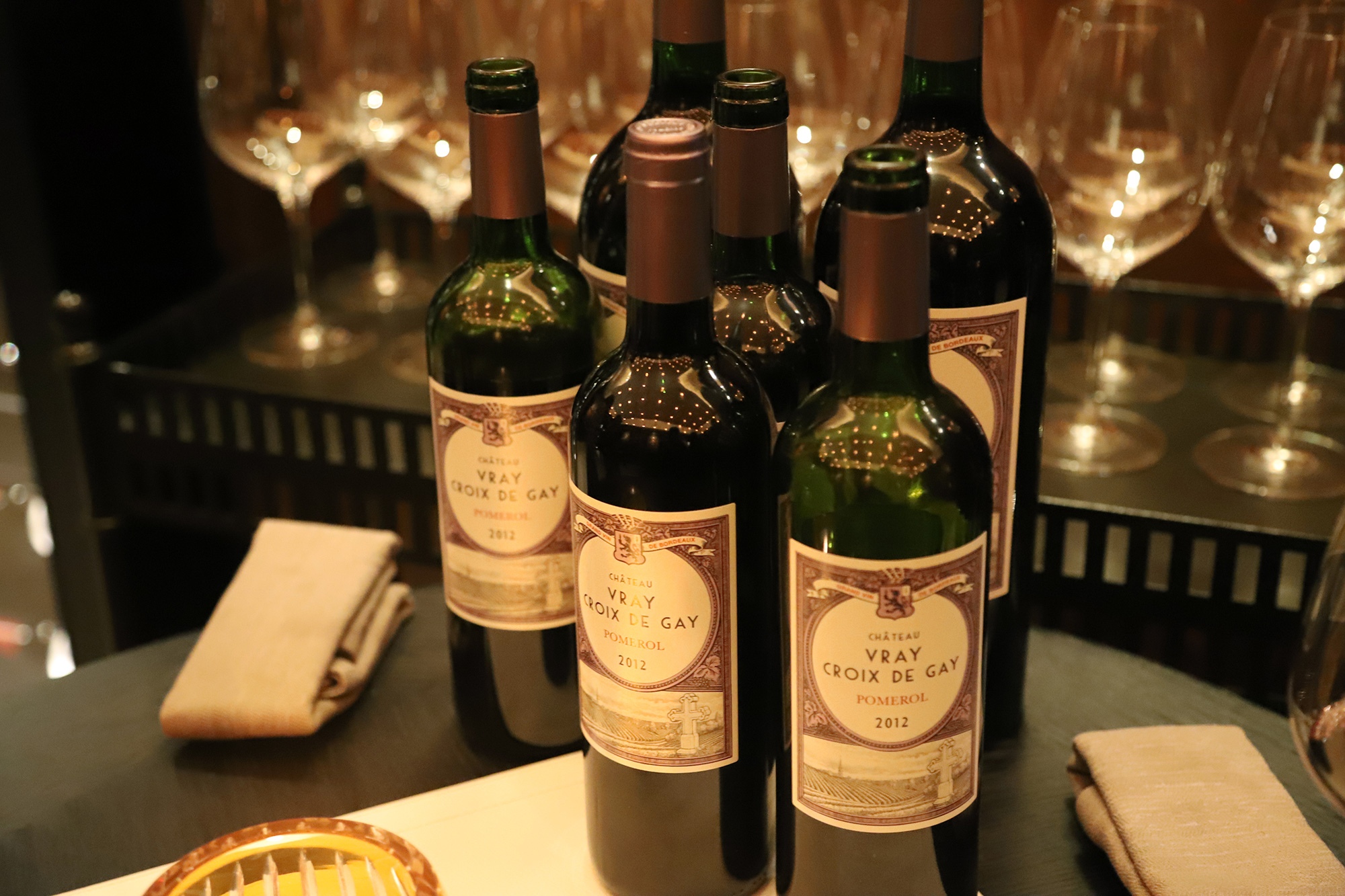 The Women of Brummell event included a chance to taste wines at The Private Club at The Four Seasons Ten Trinity Square