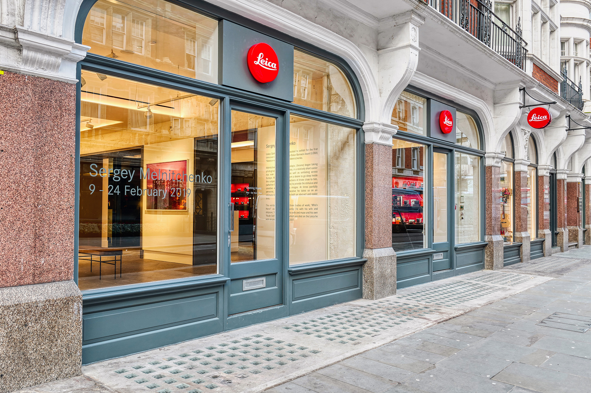 The new Leica store Mayfair