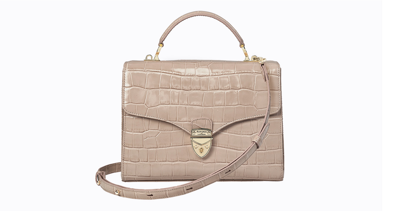 Aspinal Mayfair bag in taupe