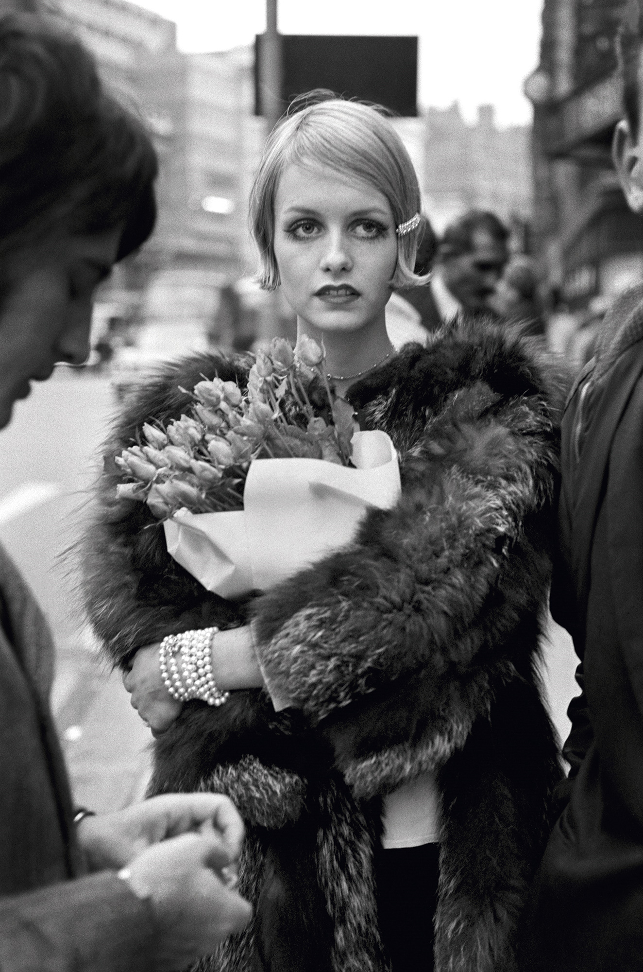 Terry O'Neill/Iconic Images: Twiggy in Knightsbridge, London, 1964