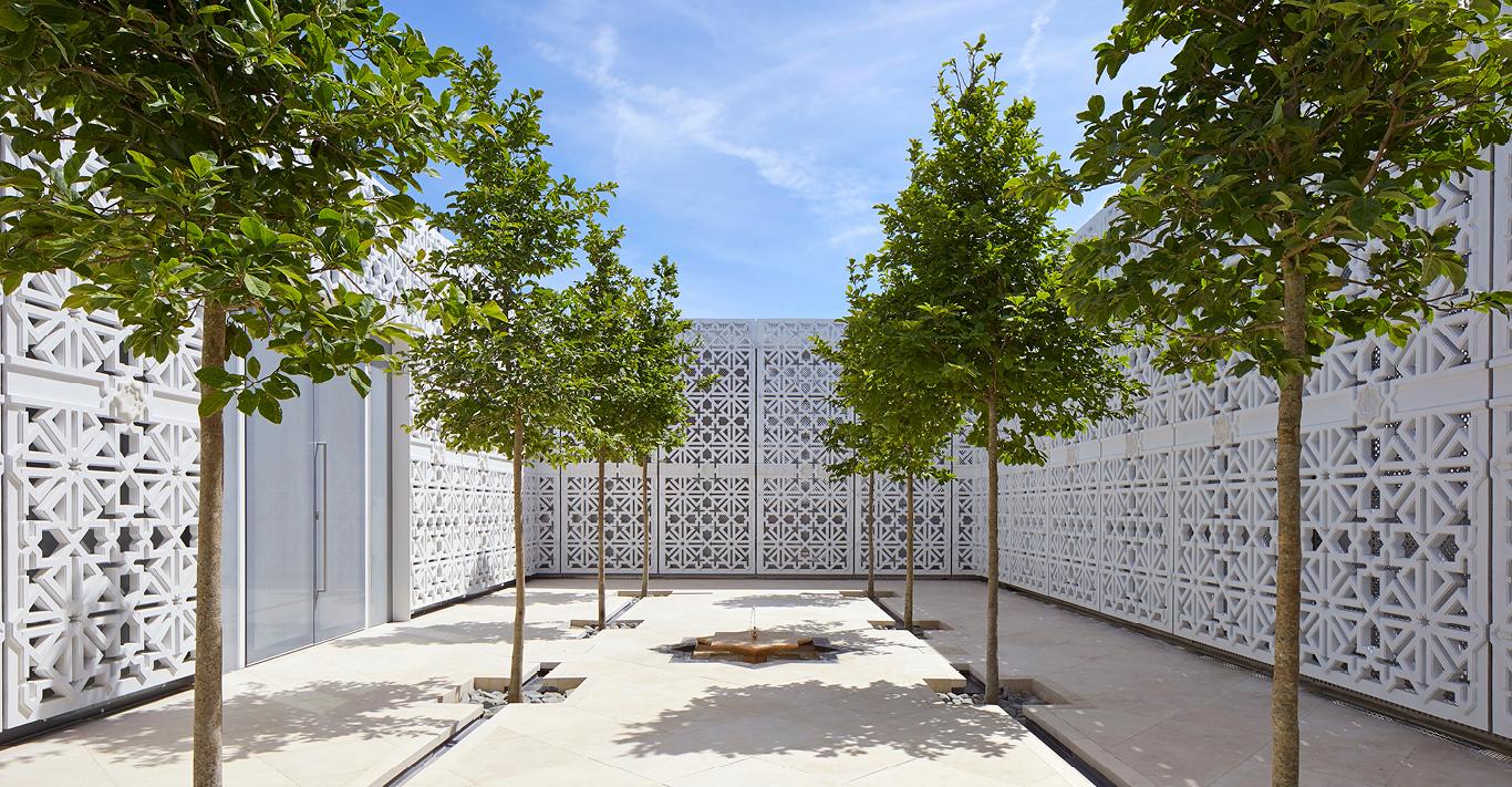 The Islamic Gardens at the Aga Khan Centre