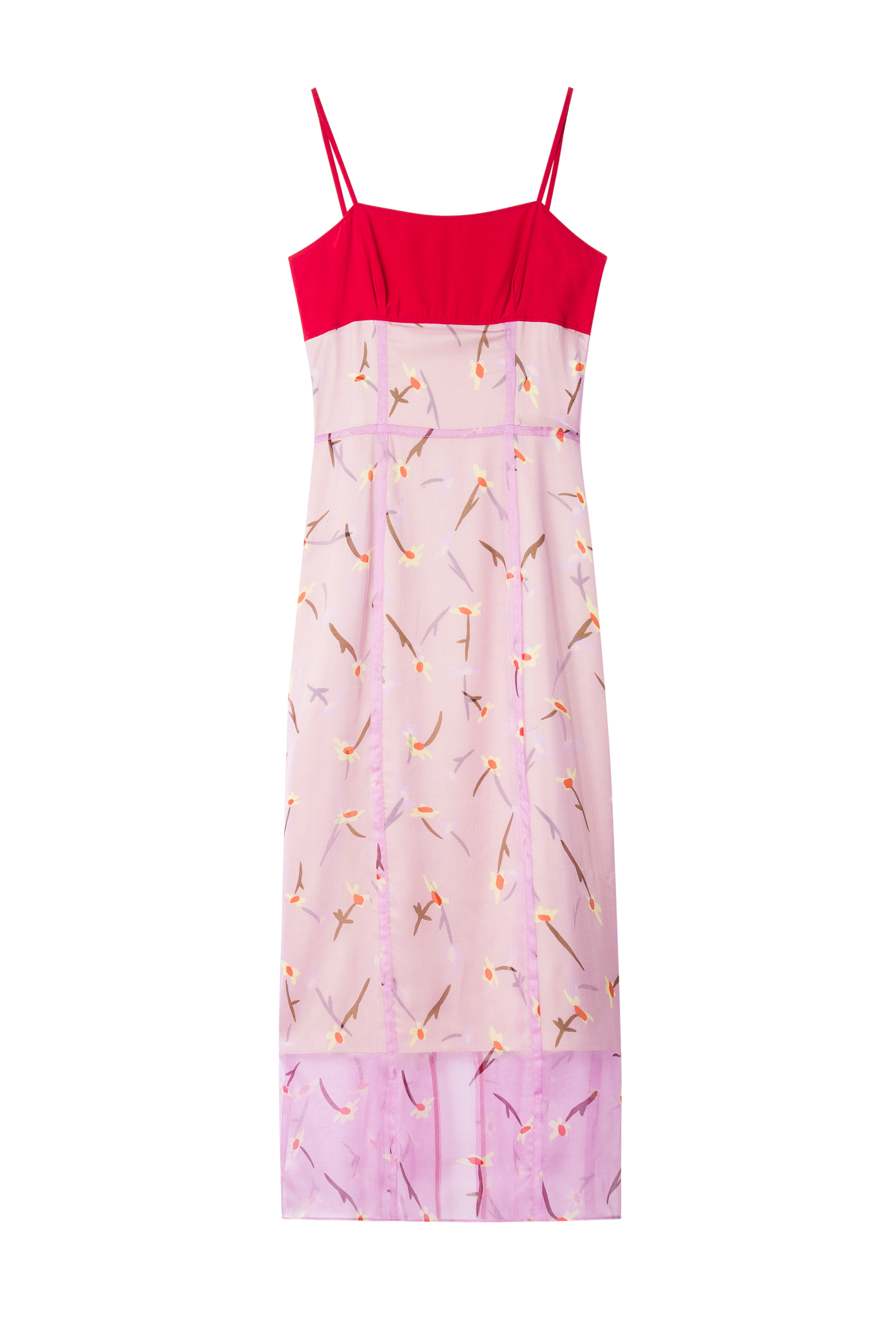 A floral dress by Paul Smith