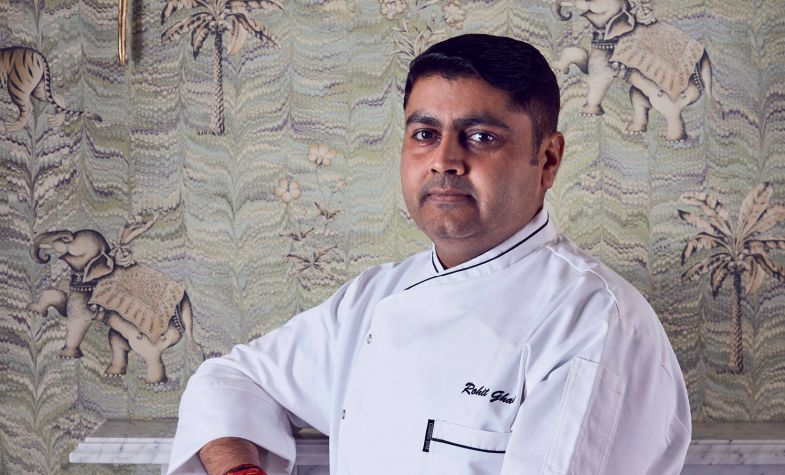 Rohit Ghai, chef patron of Kutir