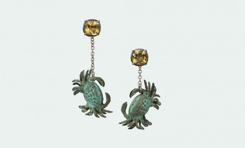 Rock pool earrings from the Once Upon a Time in my Secret Garden collection
