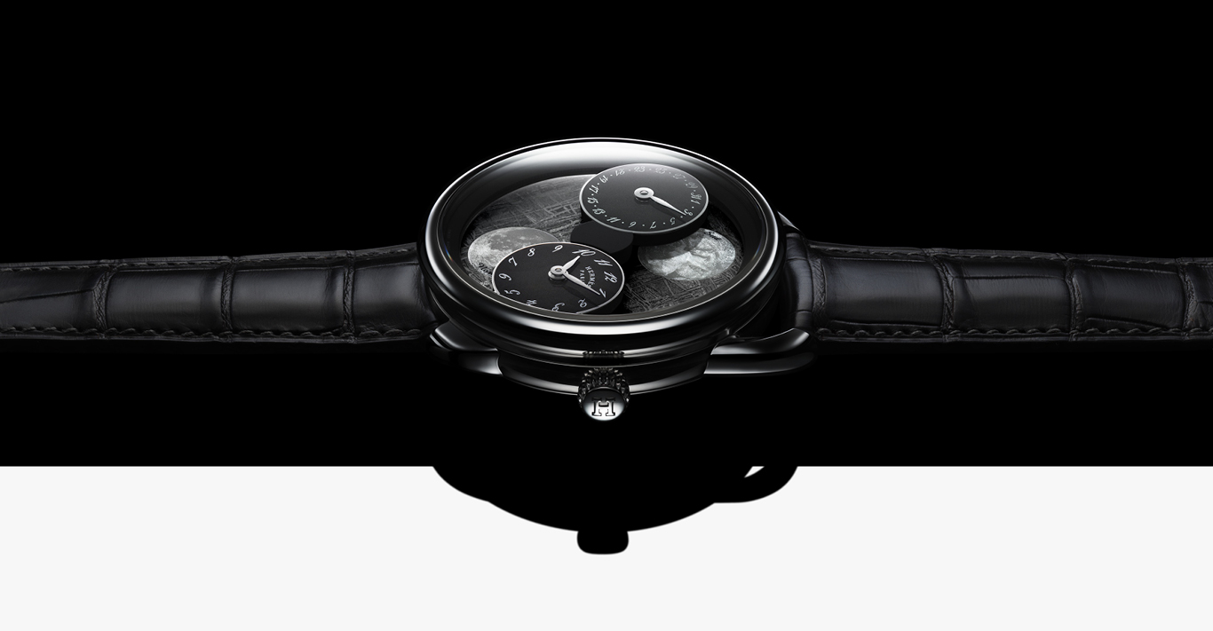 The out-of-this-world Hermès Arceau L'heure de la Lune watch
