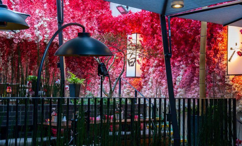Nobu Shoreditch's Hanami terrace