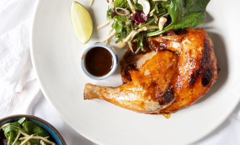 Gunpowder chicken at Brasserie Blanc