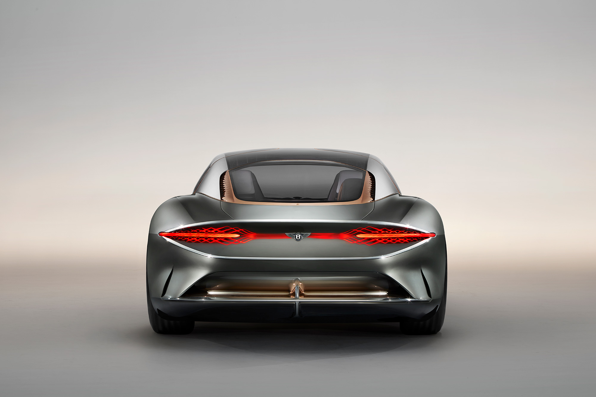 The new electric and autonomous Bentley EXP 100 GT
