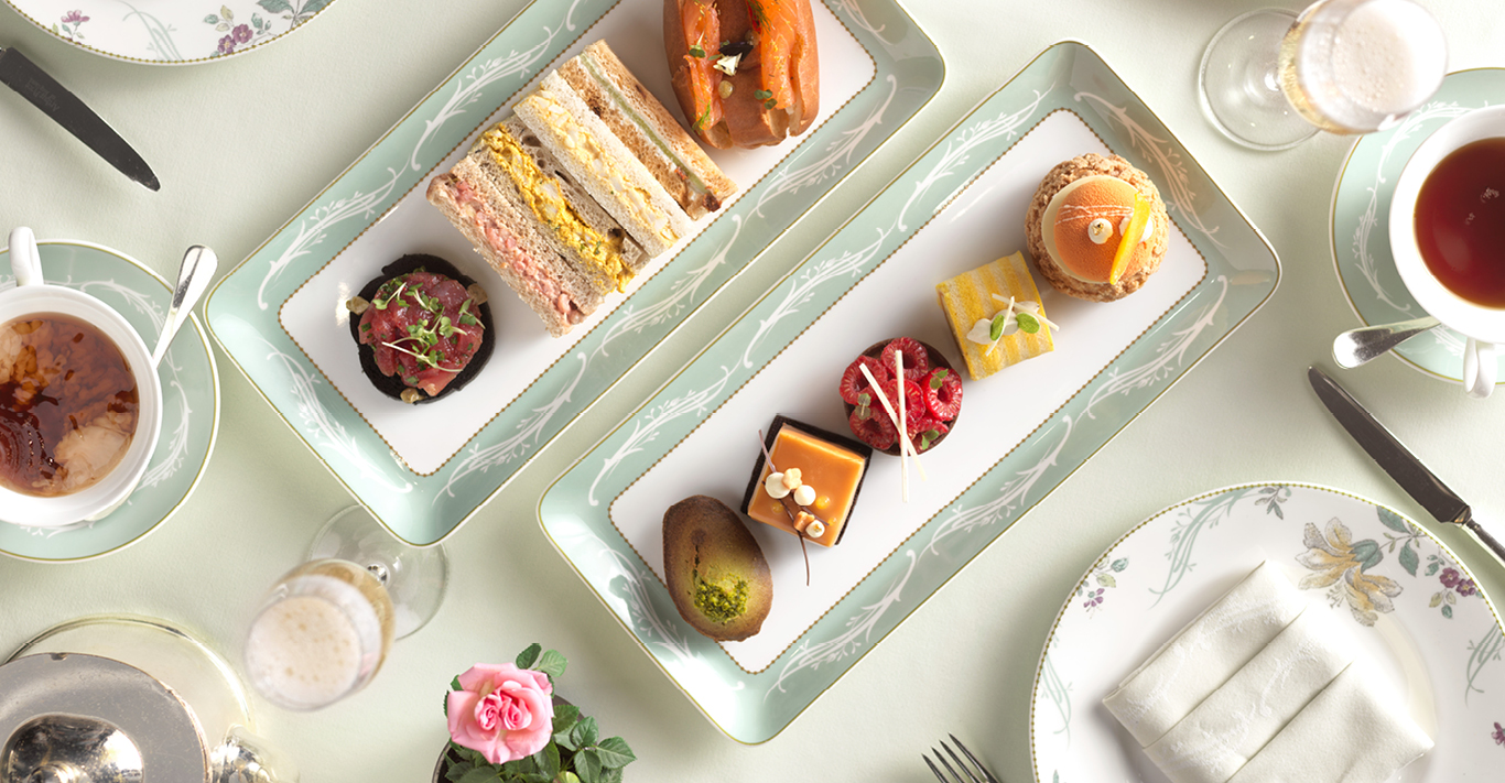 The Savoy's afternoon tea uses the finest British produce