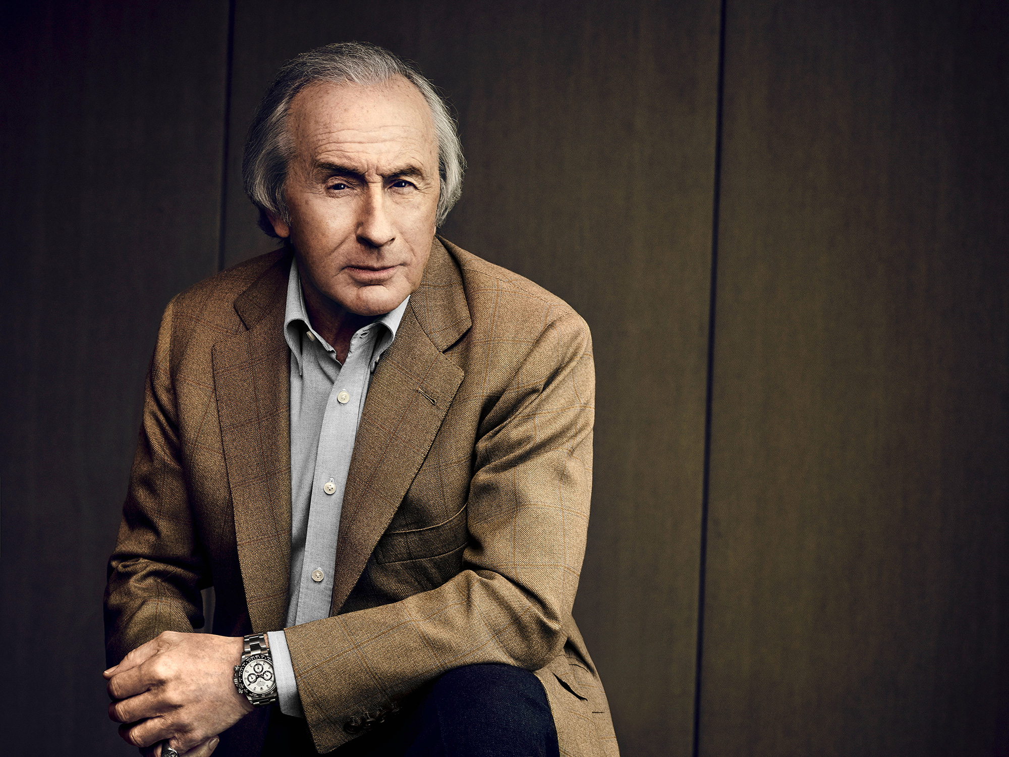 Rolex testimonee, Sir Jackie Stewart ©Rolex/Thomas Laisné