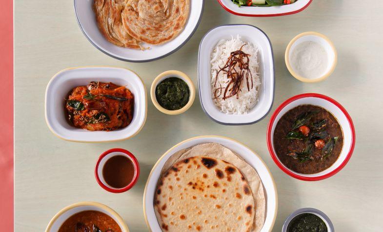 A selection of dishes at Shola Karachi Kitchen
