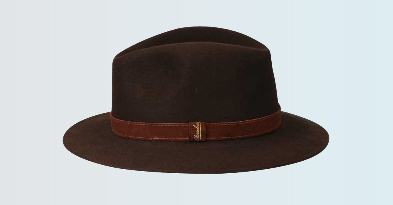 Borsalino's folding Traveler Hat