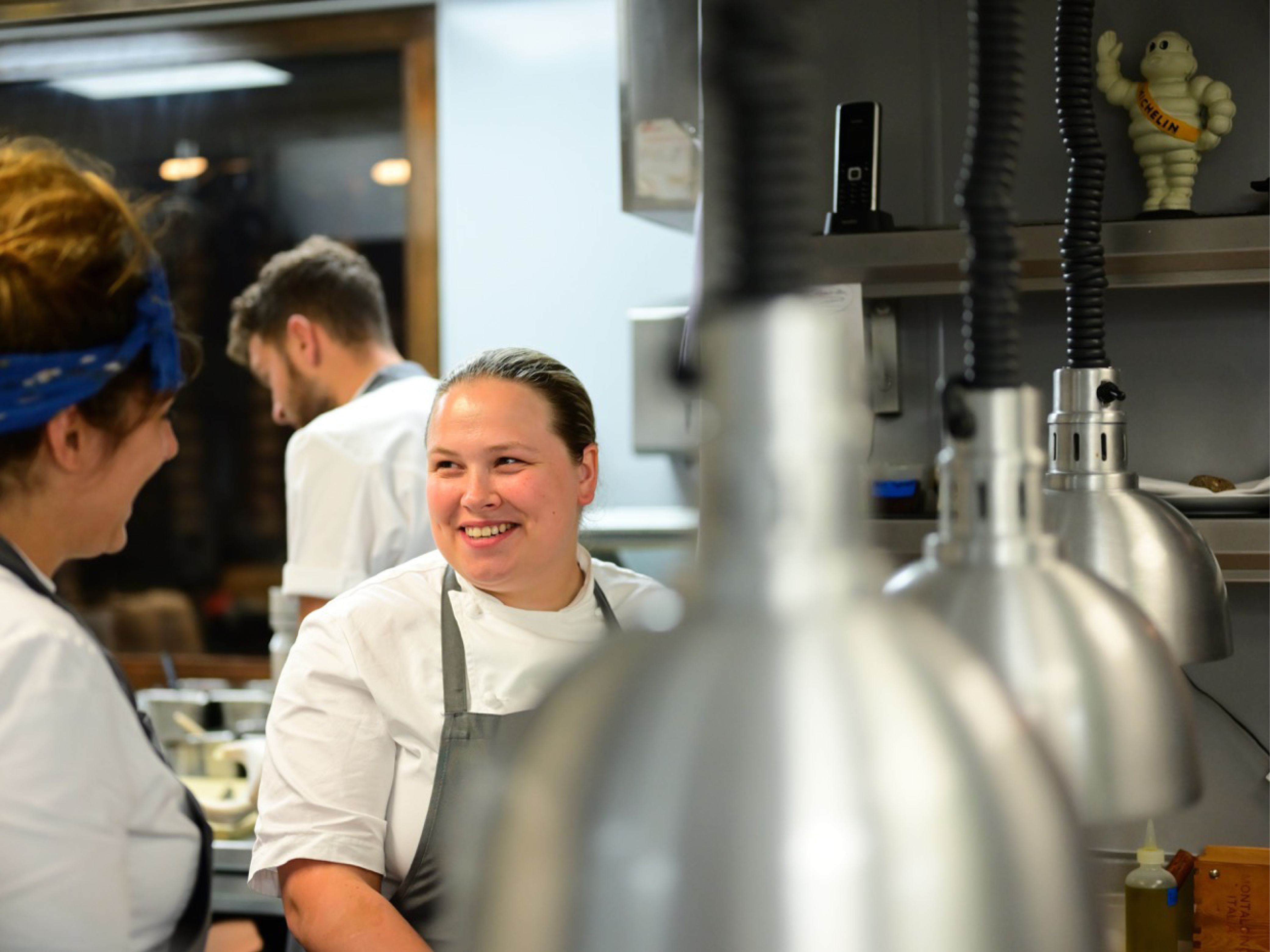 Emily Brightman, head chef of Murano