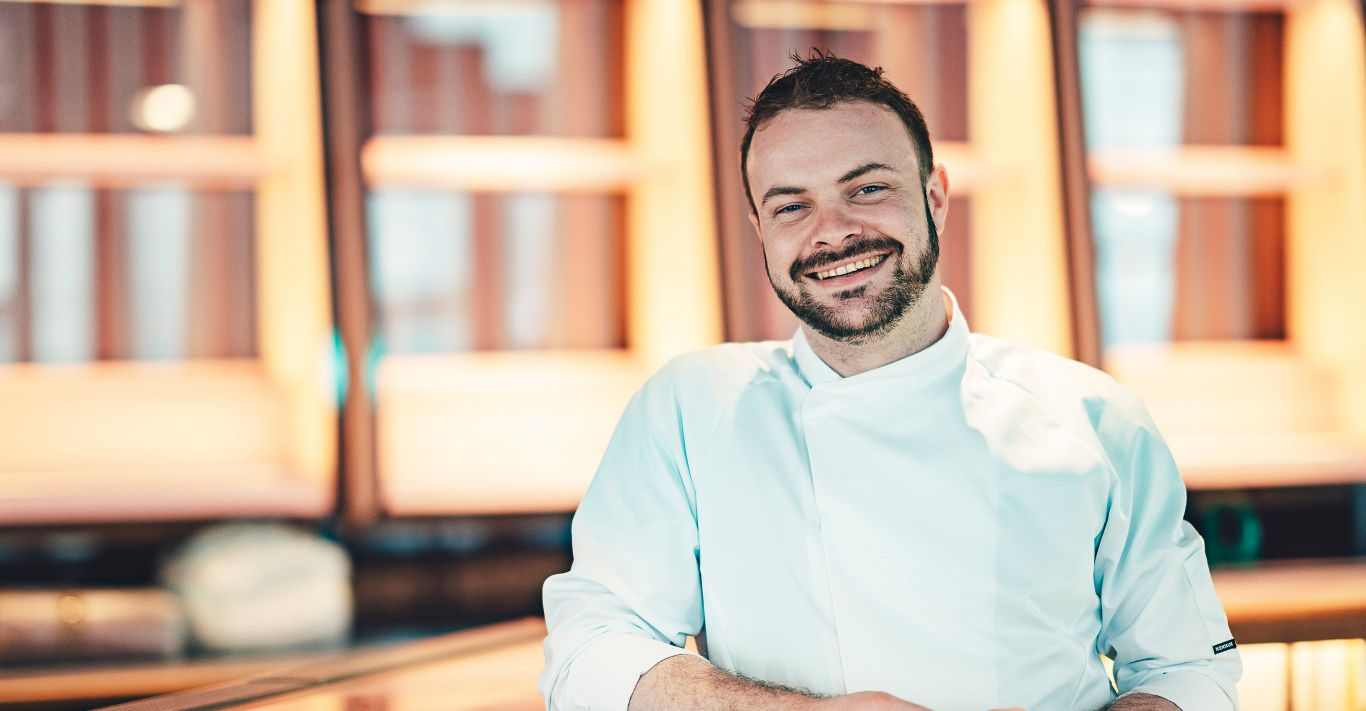 Adam Rawson, executive chef at the new Standard hotel in King's Cross