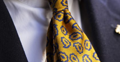 Shaun Gordon's new tie collection, A Well Dressed Man