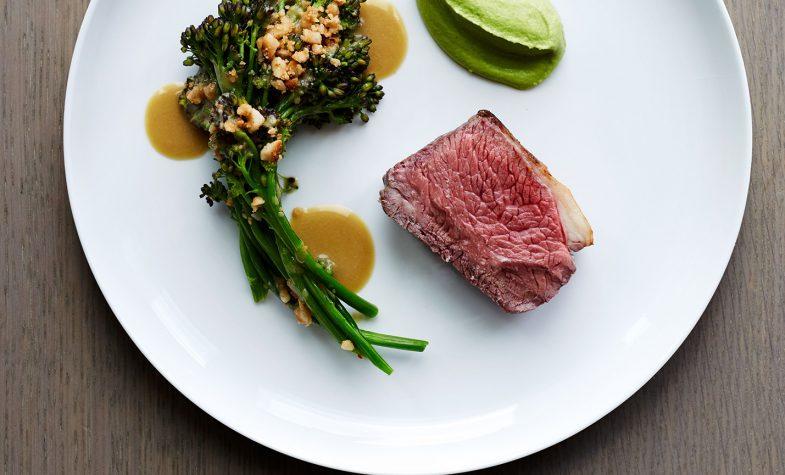 Stratford Brasserie grilled lamb rump