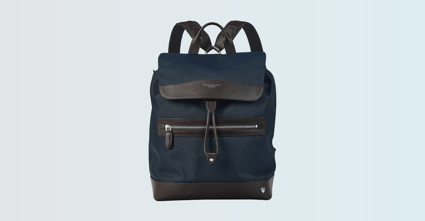Aspinal's Anderson Backpack is available at The Royal Exchange
