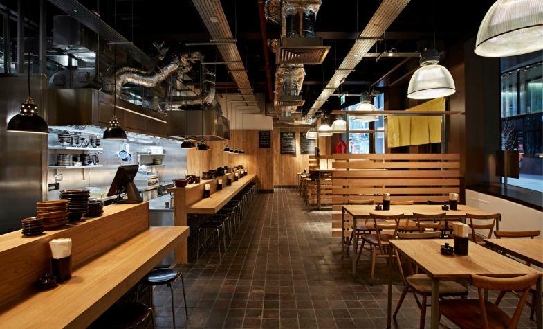 Koya, in Soho, specialises in udon noodles