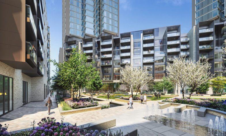 250 City Road, Valencia Tower, Berkeley Homes