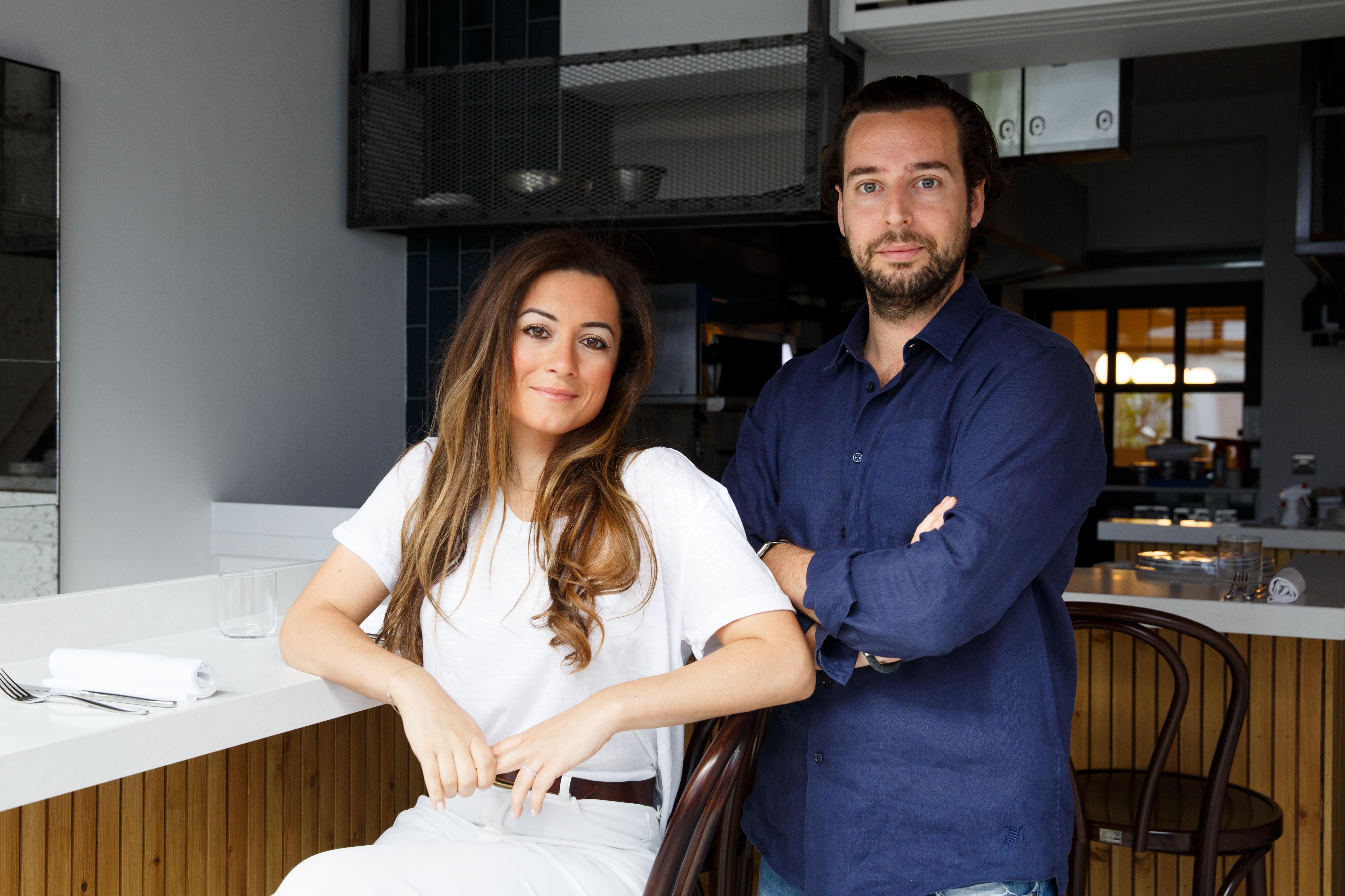 Adrien Carre and Christina Mouratoglou