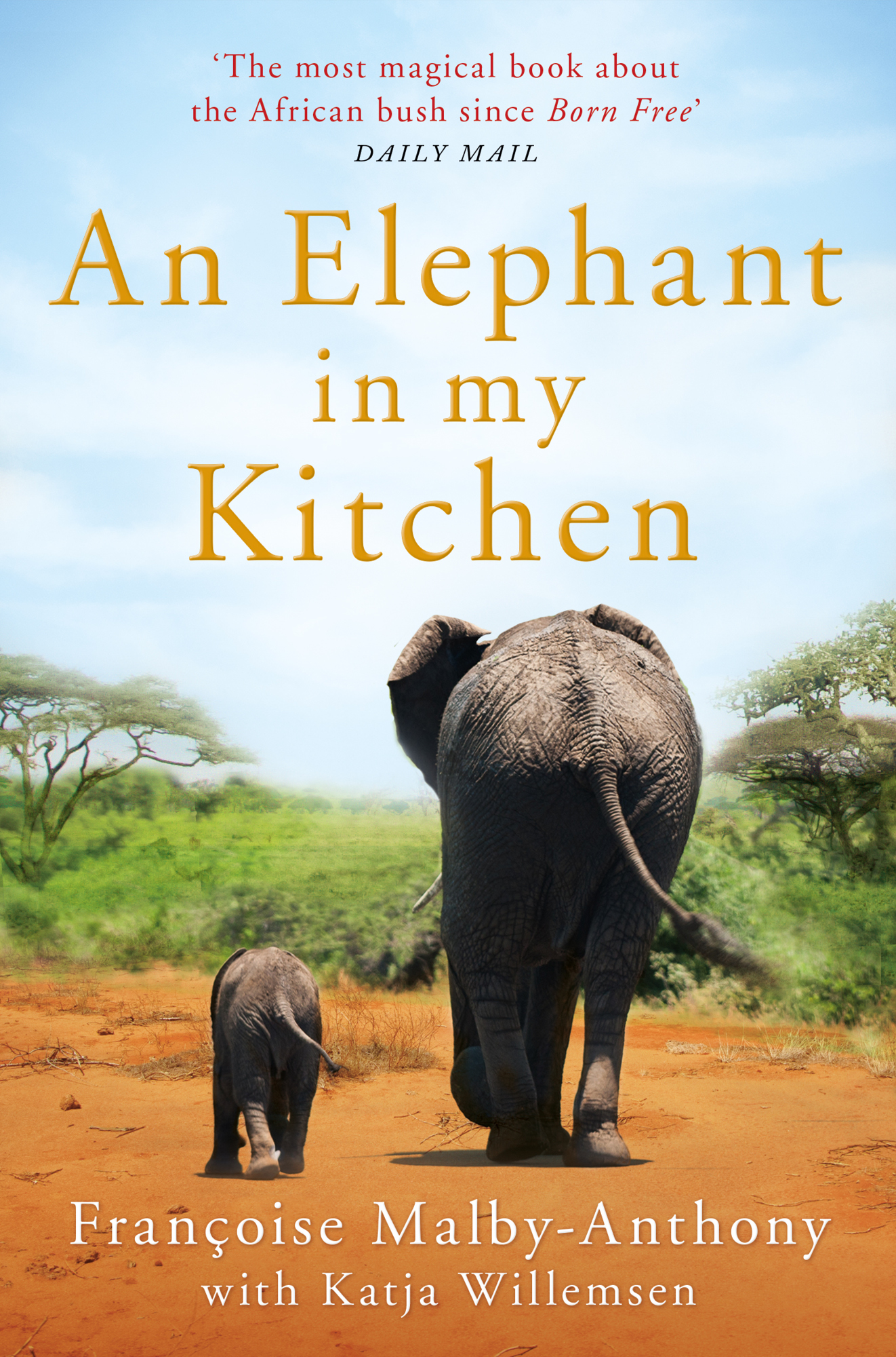 An Elephant In My Kitchen, Françoise Malby-Anthony's best-selling book