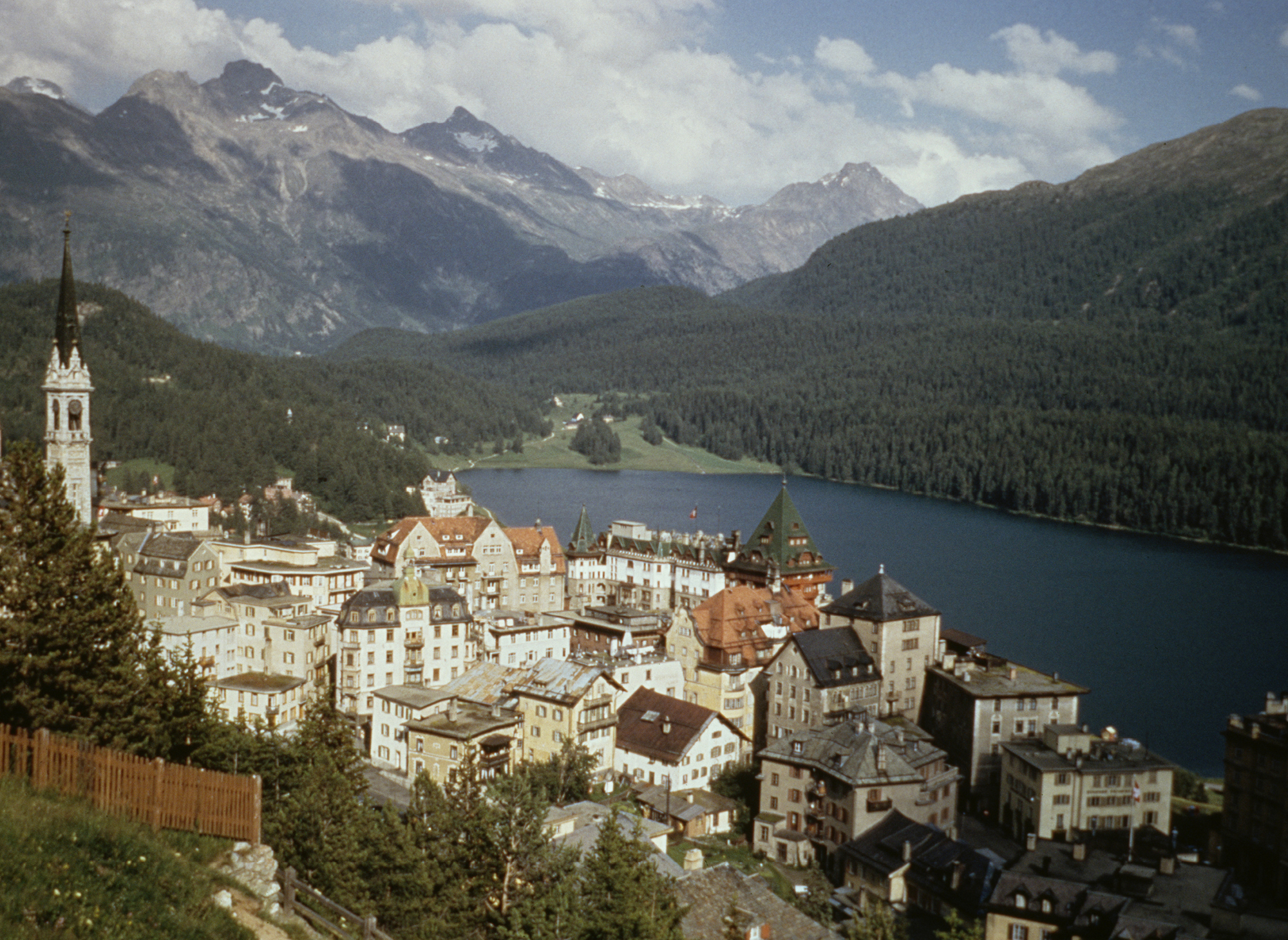 The Swiss resort inspired the original watch