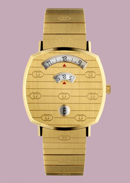 The Gucci Grip watch