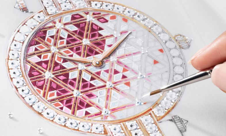 The Premier Precious Micromosaic is the most recent métiers d'art by Harry Winston