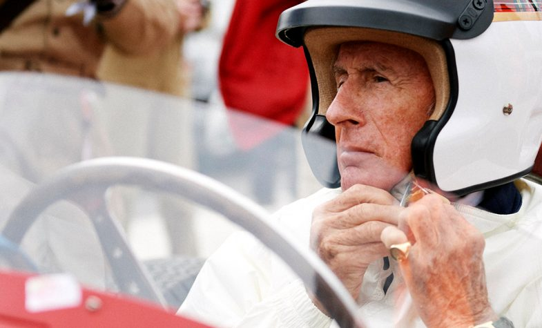 Motoring legend Jackie Stewart is rarely seen without a Rolex on his wrist