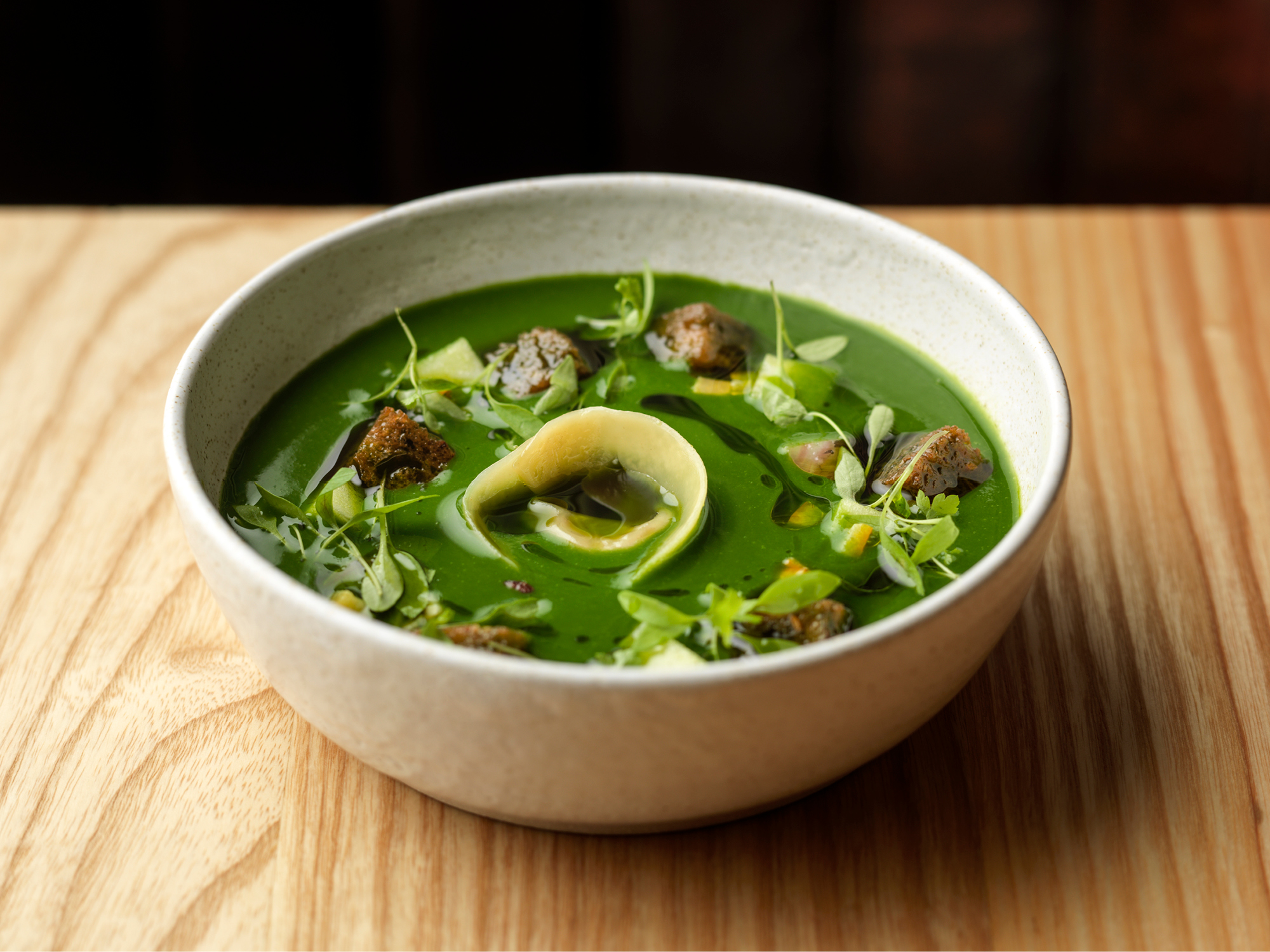 Lovage Soup at The Hand & Flower