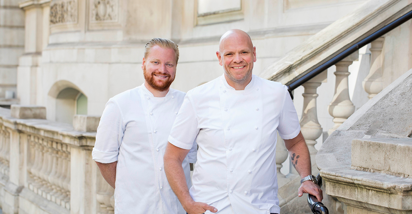 Nick Beardshaw (Left); Tom Kerridge (Right)