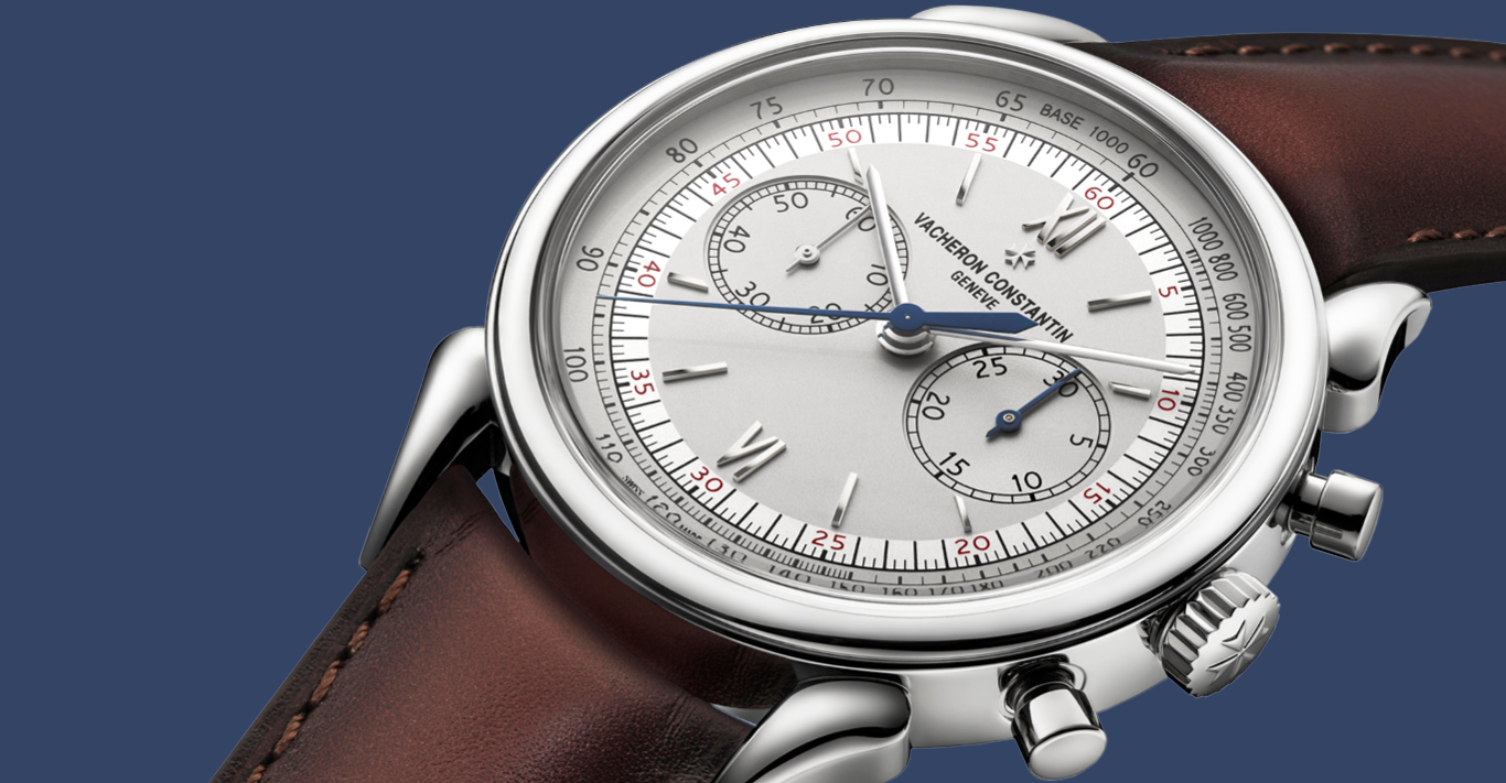 The steel Historiues Cornes de Vache 1955 merges traditional fine watchmaking with a contemporary aesthetic