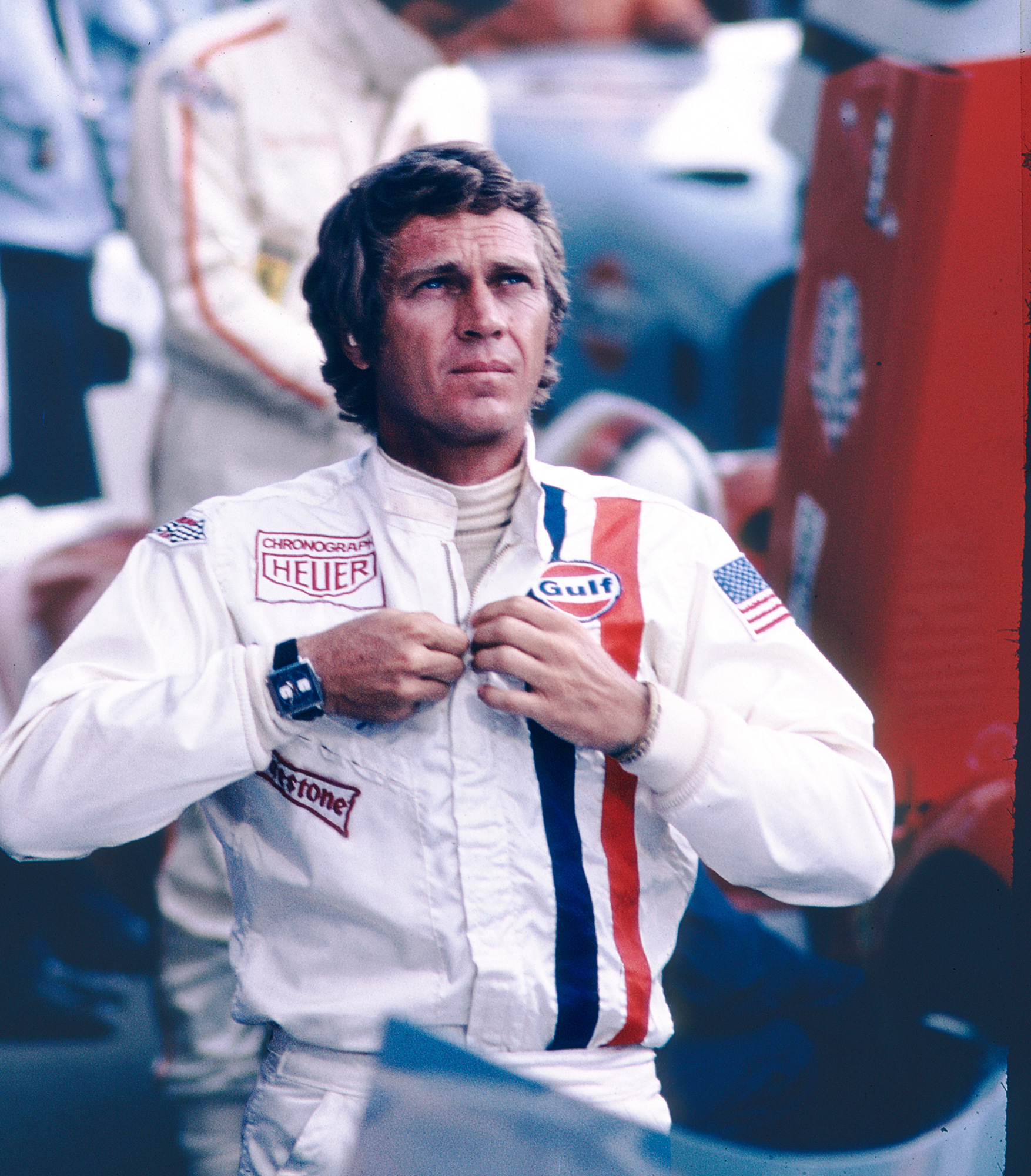 Steve McQueen in the film Le Mans