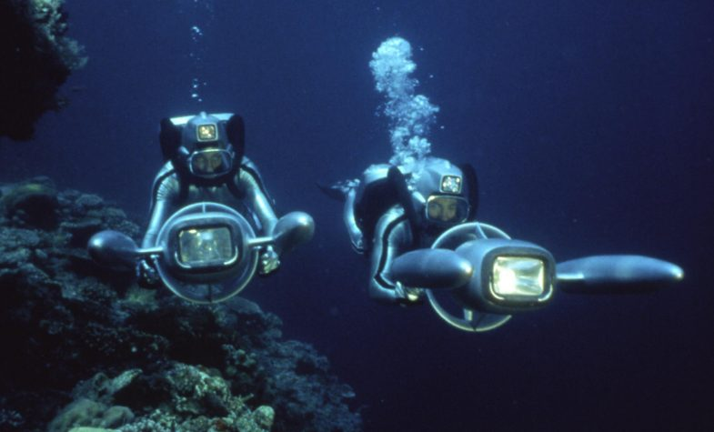 Divers from IWC-supported Cousteau Society