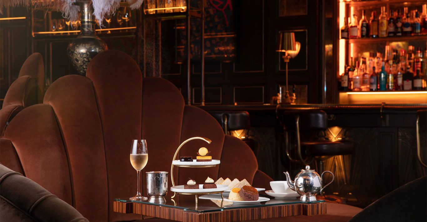 The Do You Like Chocolate? afternoon tea at Kimpton Fitzroy London hotel