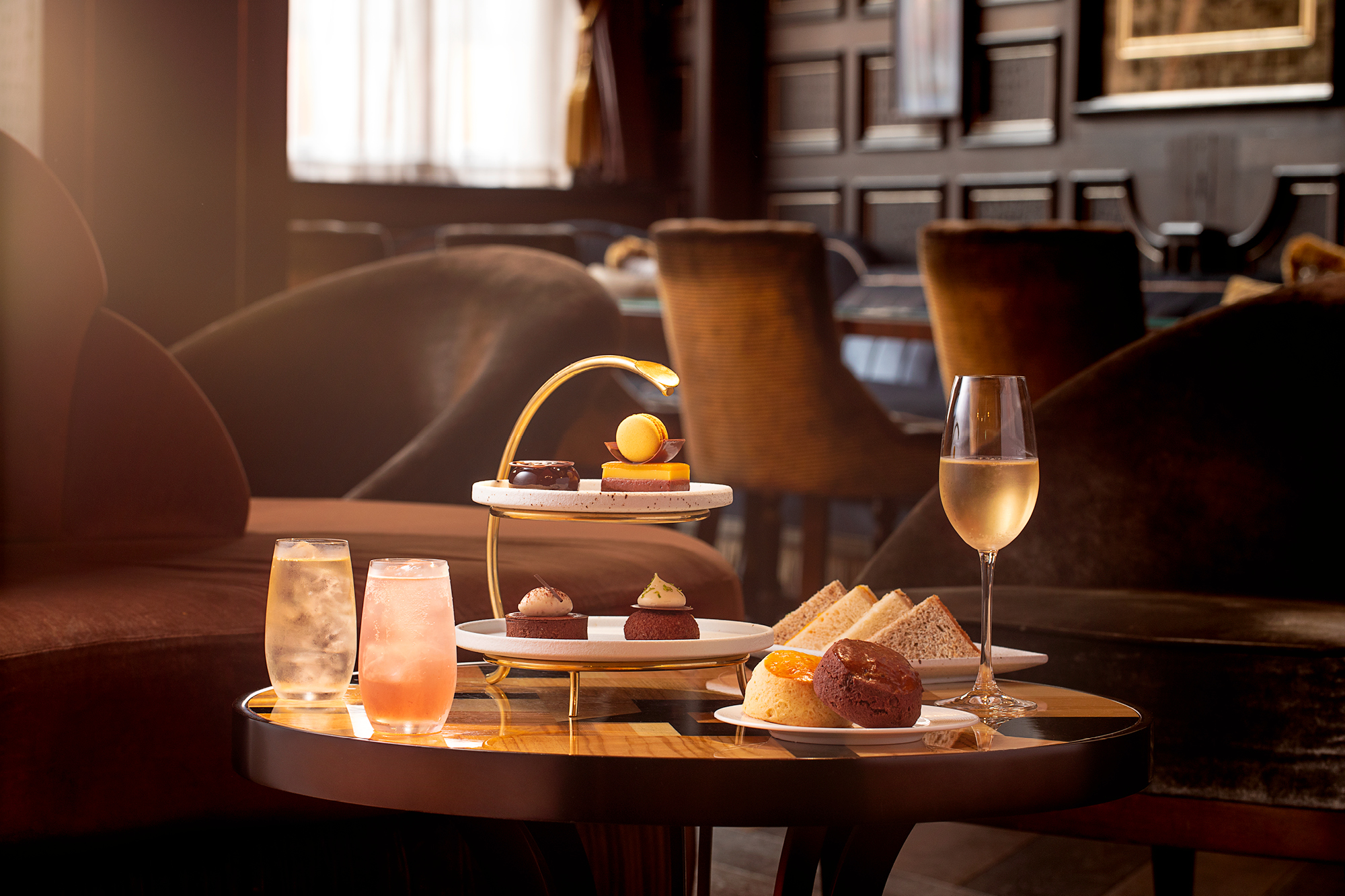 The Do You Like Chocolate? afternoon tea at the Kimpton Fitzroy London hotel