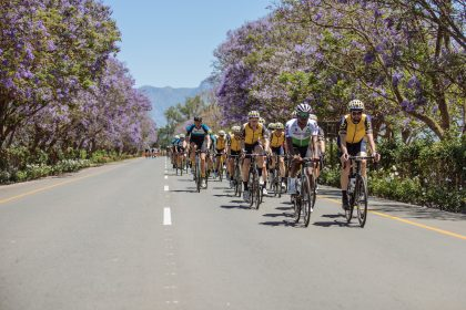 Coronation Double Century bike race in South Africa