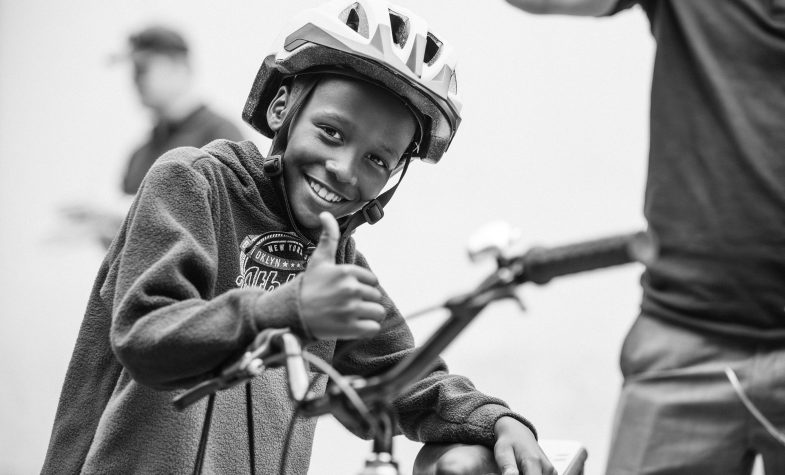 Qhubeka, a charity that manufactures and donates bicycles to high school children