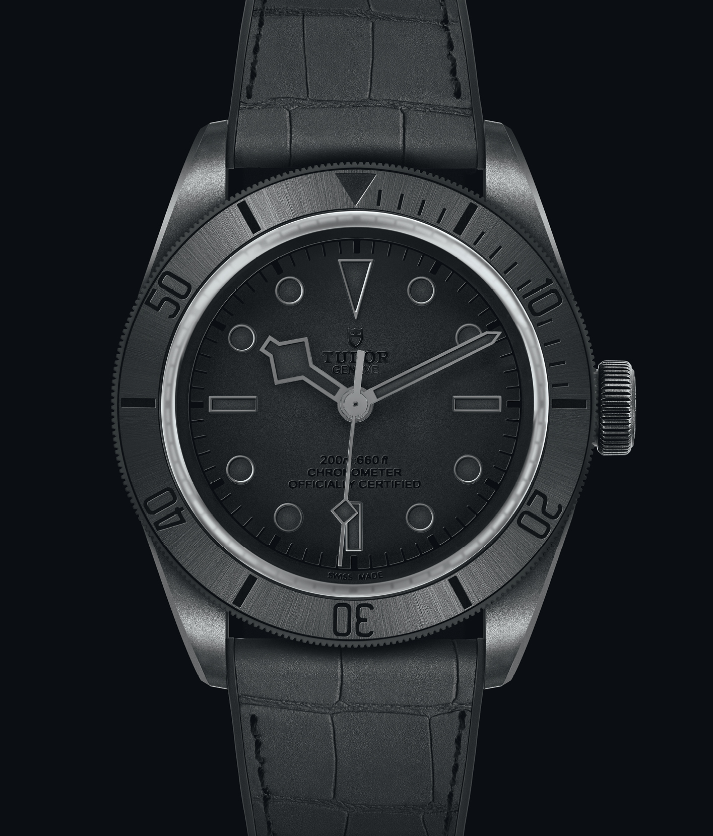 The all black Tudor Black Bay Ceramic