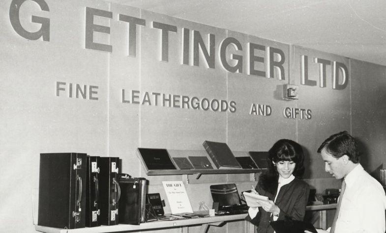 Ettinger store in the 1970s