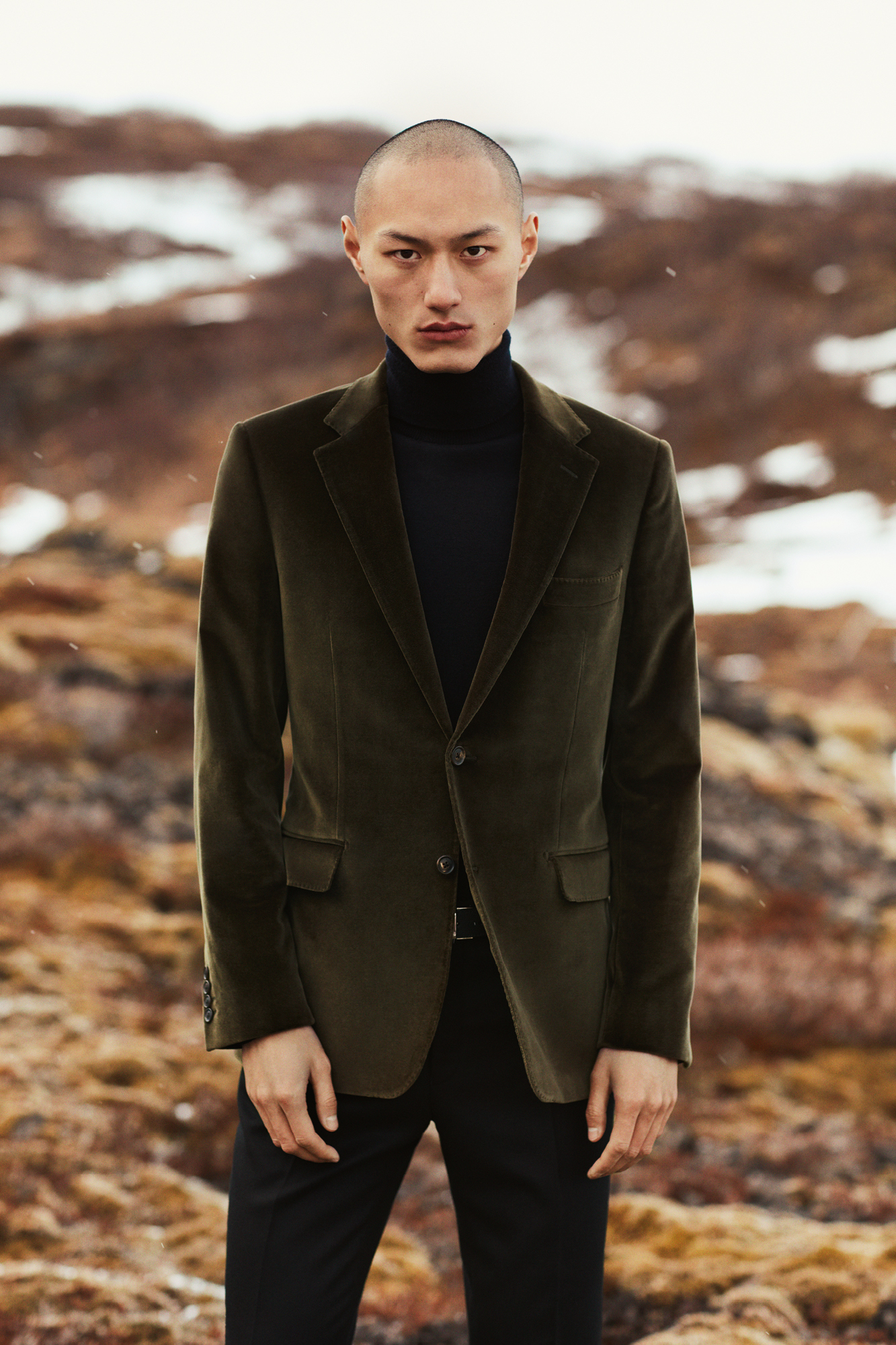 From velvet dinner jackets to refined layering, Savile Row tailor Gieves & Hawkes has winter dressing all wrapped up.