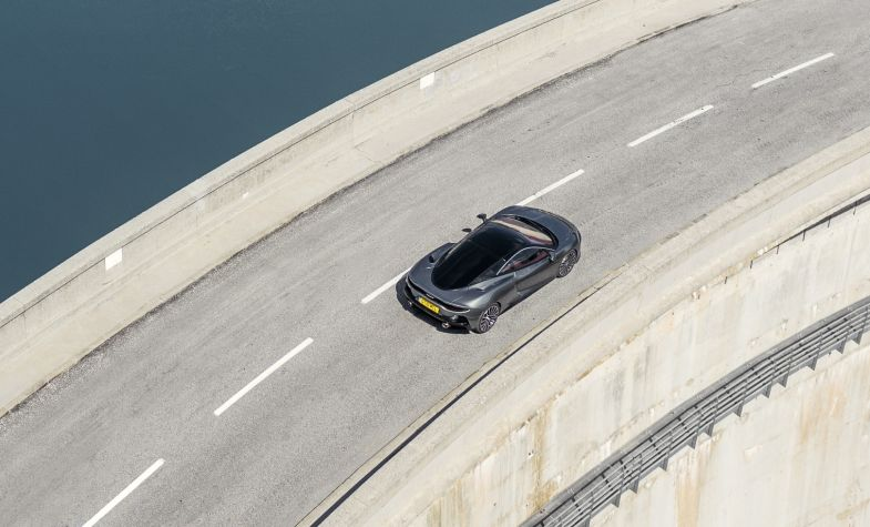 The McLaren GT can reach 60mph in under 3.2 seconds.