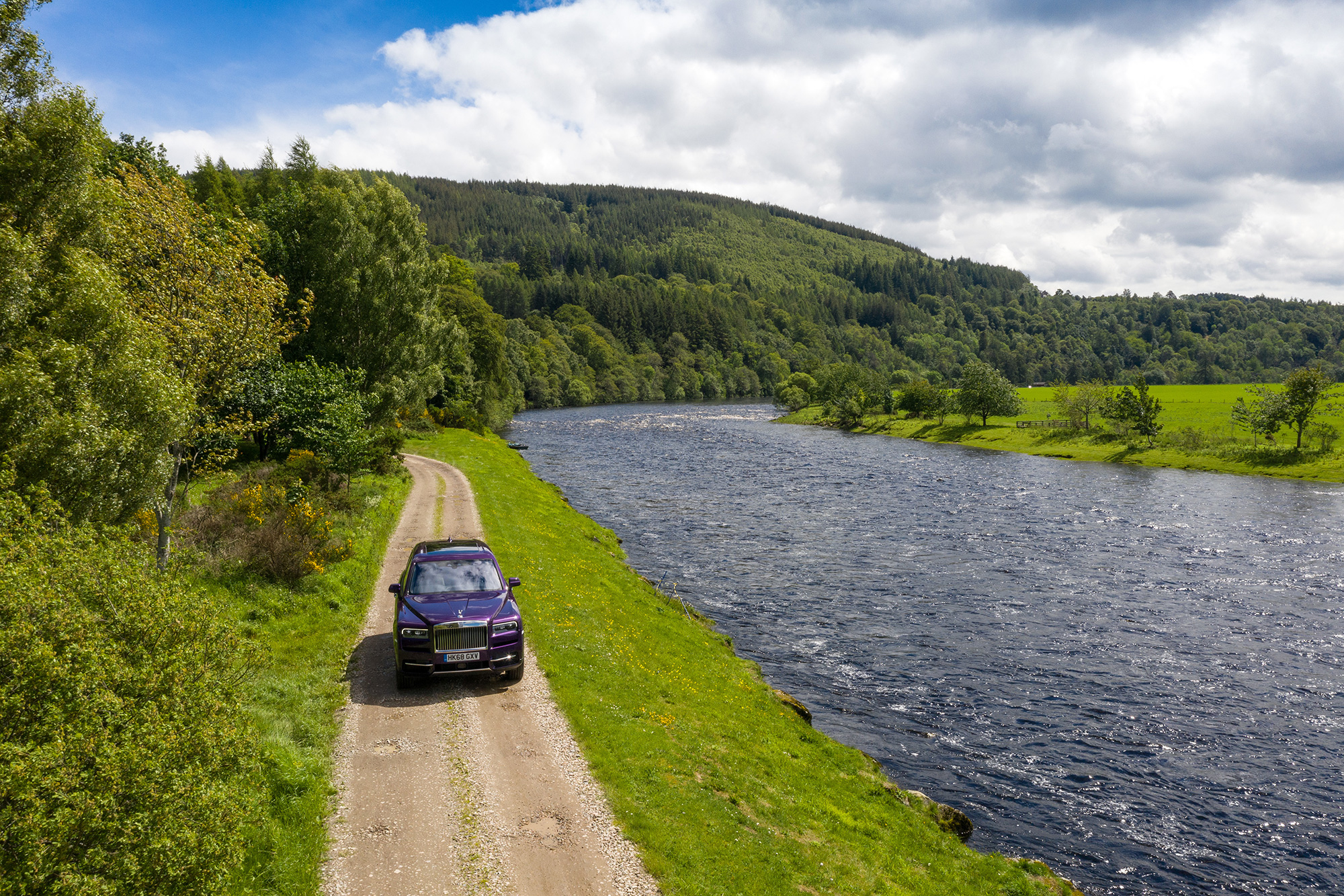 Test driving the Rolls-Royce Cullinan in Scotland